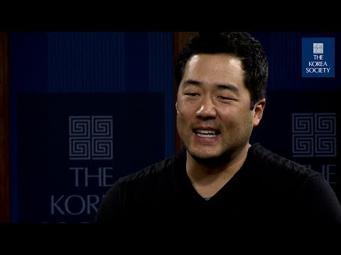 Actor Tim Kang at The Korea Society