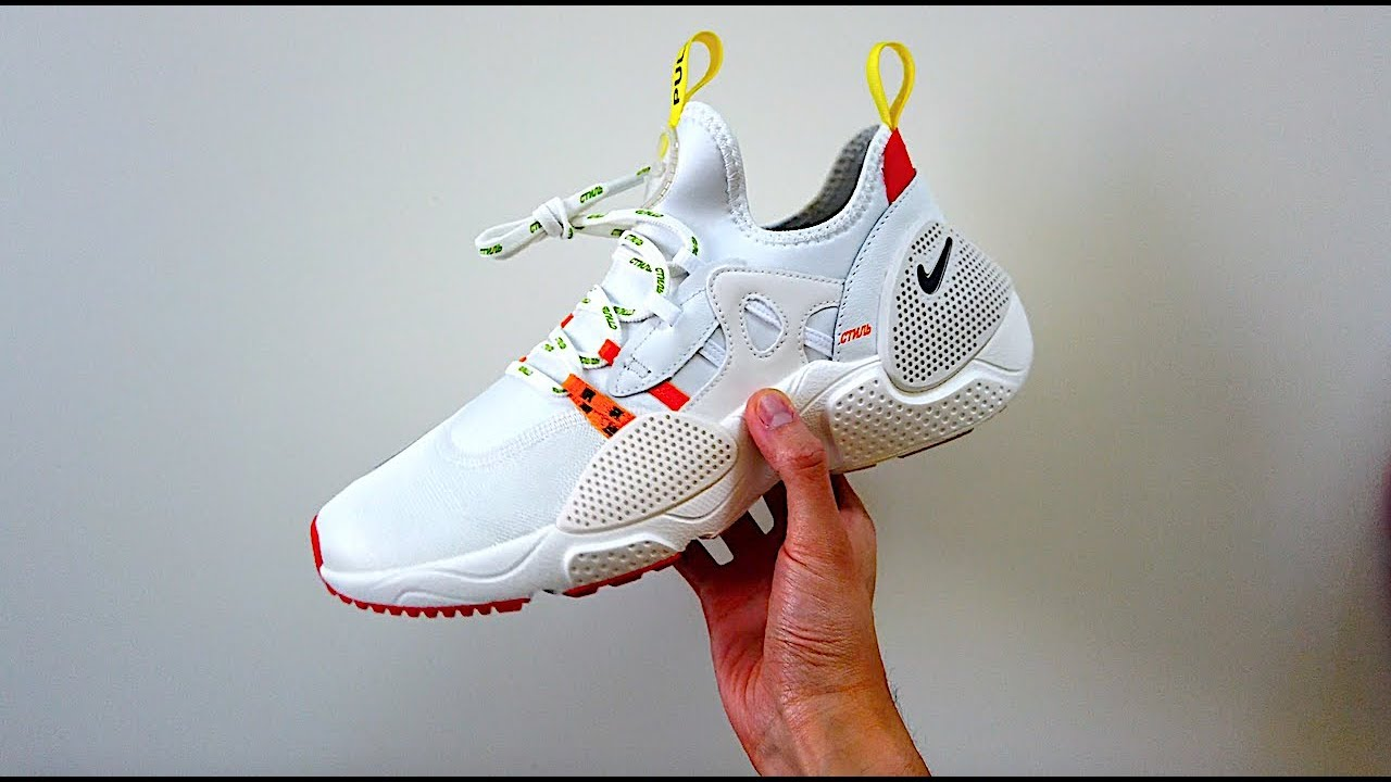 new concept 8237c 7a381 Underrated! Nike x Heron Preston Huarache E.D.G.E. Review + Realest on Foot  on YouTube!