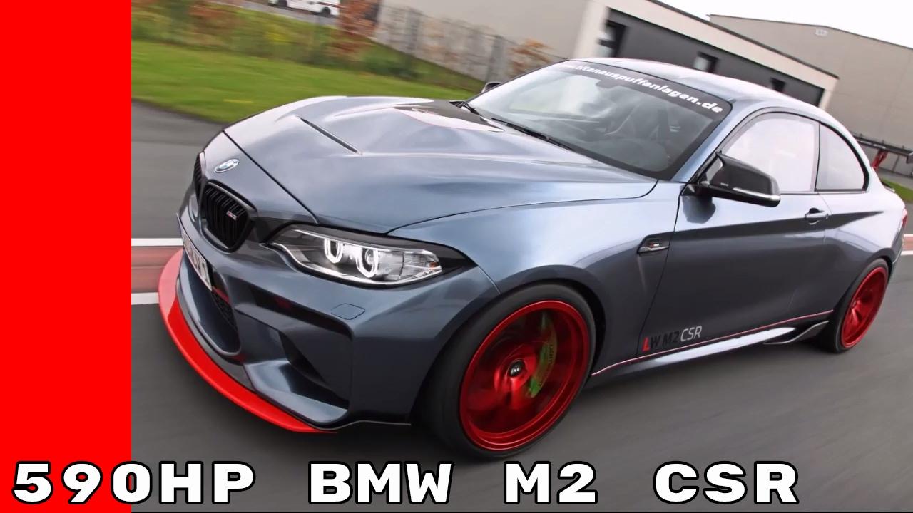 590HP BMW M2 CSR By Lightweight Performance With S55 Engine