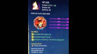 Blade and Soul, Tomb of Exiles, Unsealed Soul Shield set.