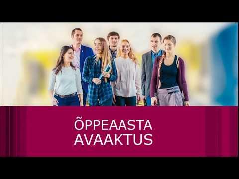 Tallinna Tehnikaülikooli avaaktus 01.september.2017