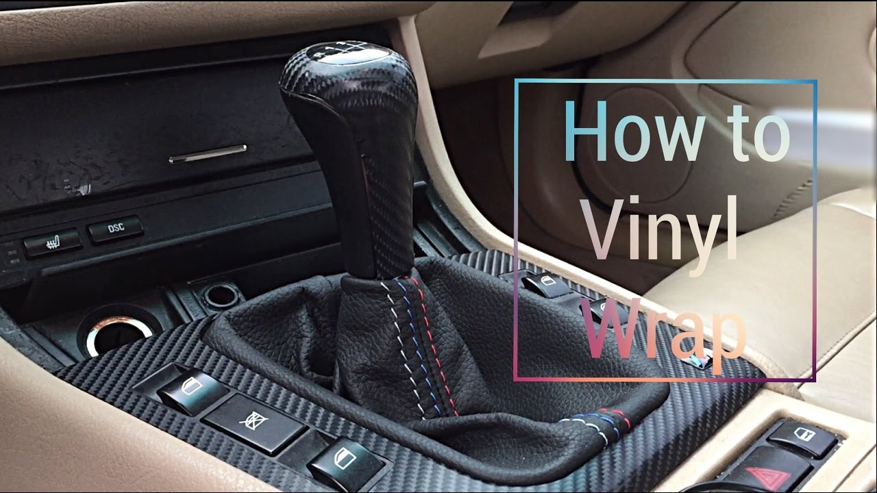 How to vinyl wrap bmw e46 interior trim doovi for Vinyl wrapping interior trim