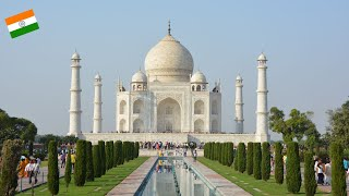 AGRA: HOME OF THE TAJ MAHAL AND AGRA FORT! (4K)
