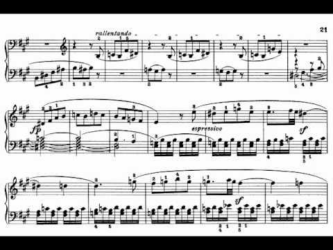 Sonata No. 2 A Major Op. 2 No. 2 - Piano