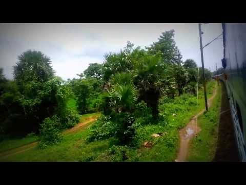 A train journey to My Palakkad (Kerala). ...mp4