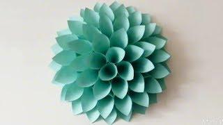 Cara Membuat Bunga Untuk Hiasan Dinding