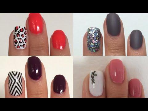 4 dise os para tus u as nail art facil y rapido - Disenos para las unas ...