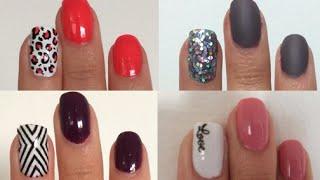 4 Diseños para tus uñas - Nail Art - Facil y Rapido - Maqui015 ♥ thumbnail