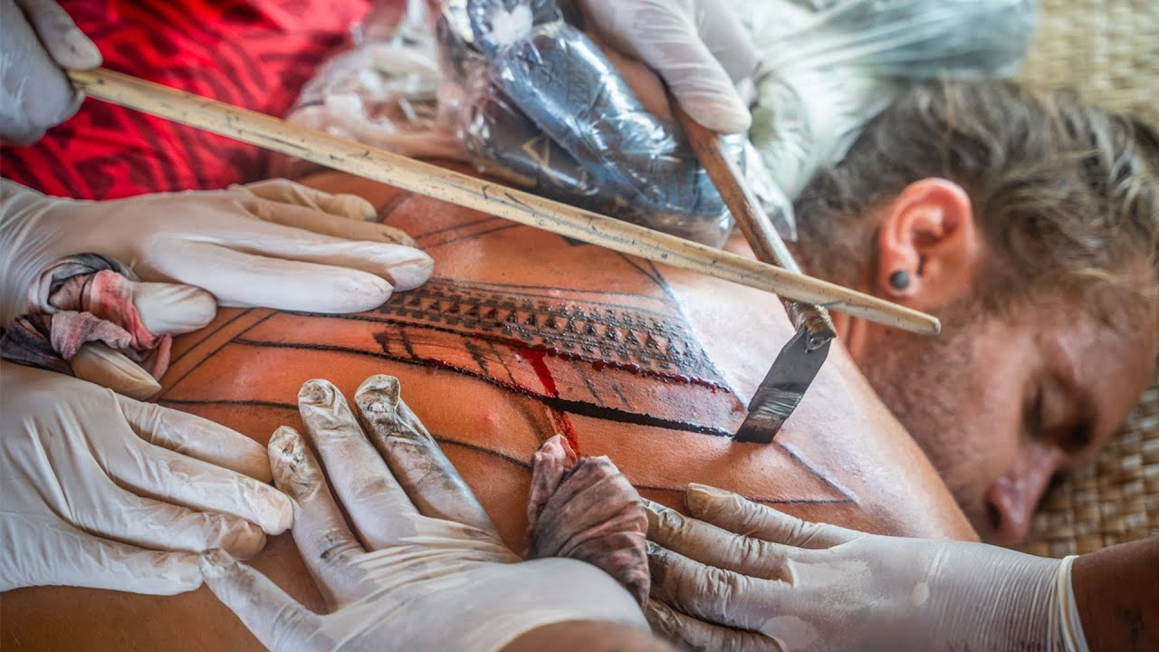 Download Most PAINFUL experience of my life 😫 Samoan Traditional TATTOO  (Expedition Drenched S01 Ep. 22)