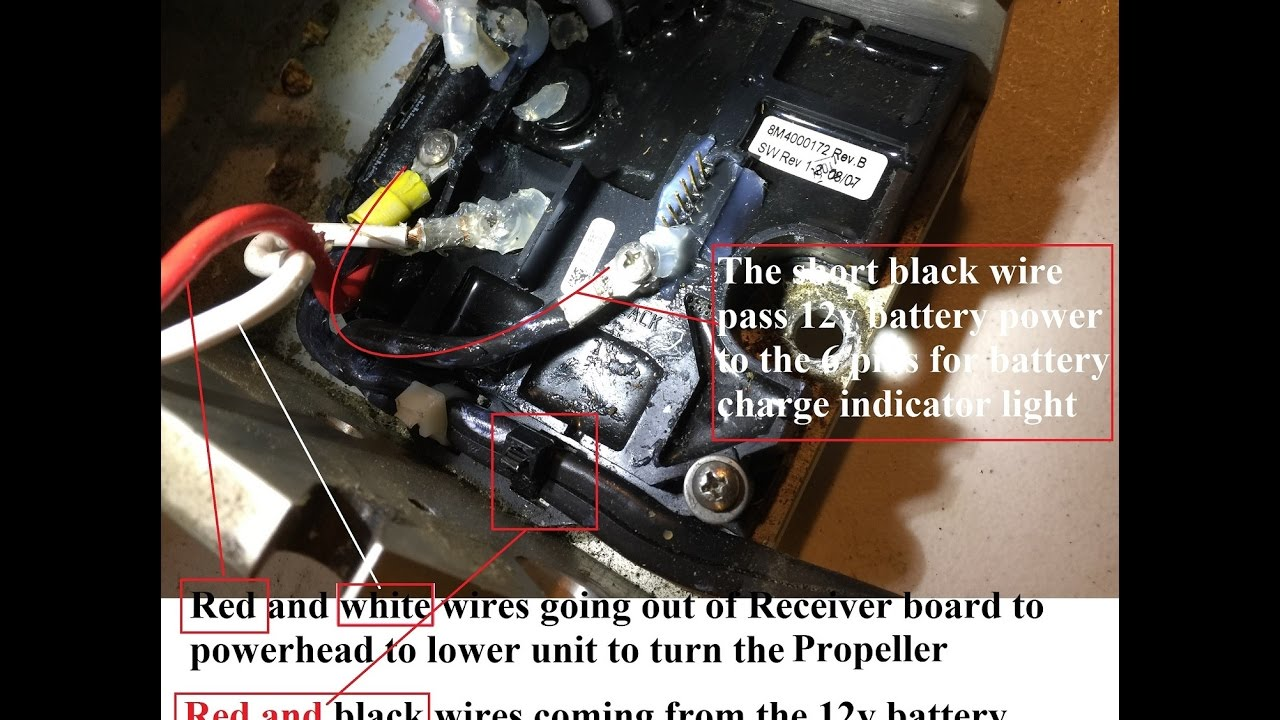 How To Troubleshoot A Non Working Motorguide W75 Wireless Trolling Attwood Motor Plug Wiring Diagram Part 3 Of 4