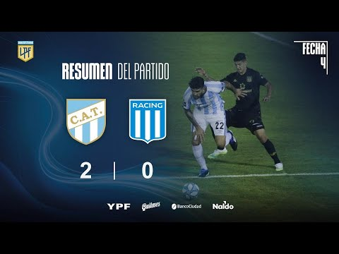 Атлетико Тукуман  2-0  Расинг Авельянеда видео