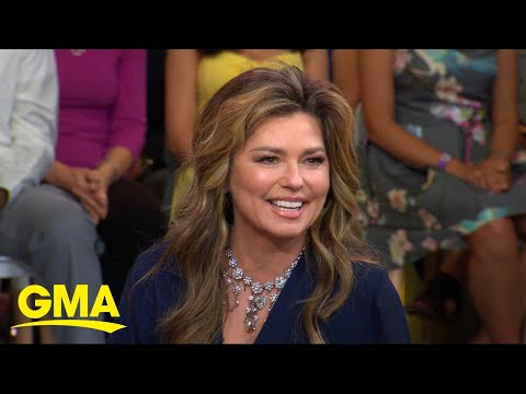 Shania Twain reveals she's heading to Vegas l GMA