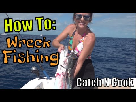 How To FISH The WRECKS In Marathon Florida | Fishing Catch And Cook