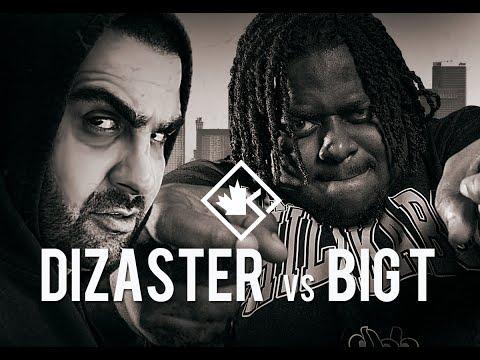 KOTD - Rap Battle - Dizaster vs Big T | #Bay