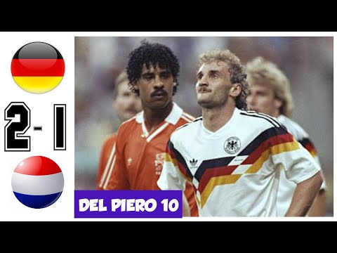 Germany vs Netherlands 2-1, WC 1990 Round of 16 - Extended Highlights