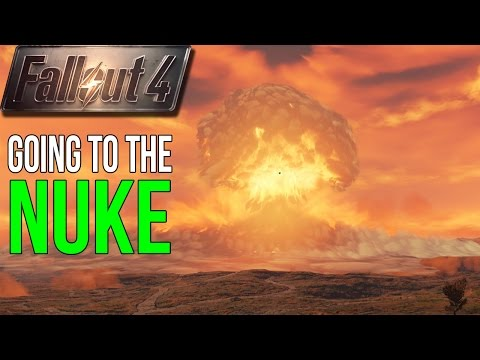 Fallout 4: GOING TO THE NUKE Before it Kills You