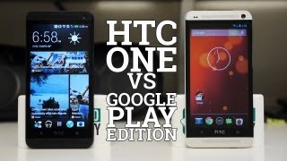 HTC One vs Google Play Edition