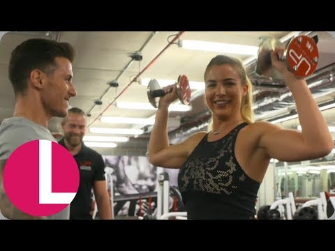 Gemma Atkinson Is a Changed Women After Finding New Love for the Gym | Lorraine