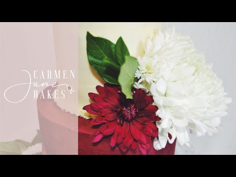 how-to-decorate-a-cake-with-fresh-flowers- -carmen-jane-bakes