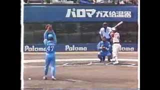 1994 工藤公康 1  力の入った投球 thumbnail