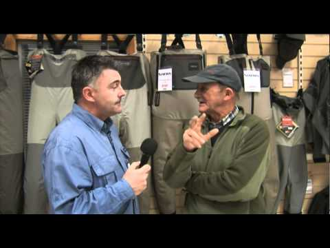 Paul Young Fishing Legend At Glasgow Angling Centre