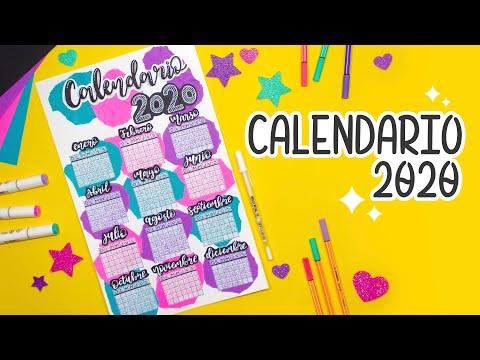 DIY: Calendario 2020 - BULLET JOURNAL