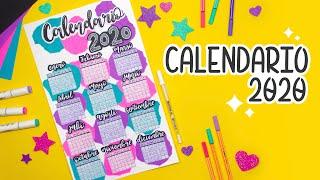 DIY: Calendario 2020 - BULLET …