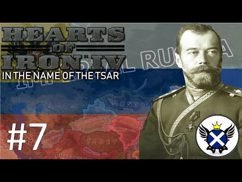 HOI4 In The Name Of The Tsar Imperial Russia EP7 - The UK Is Dead! Long Live Scotland!