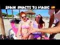 Spain Reacts to Magic 🇪🇸 -Julien Magic