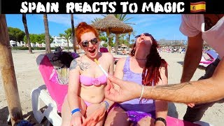Spain Reacts to Magic 🇪🇸 -Julien Magic