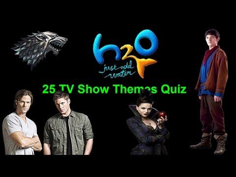 25 TV Show Themes Quiz
