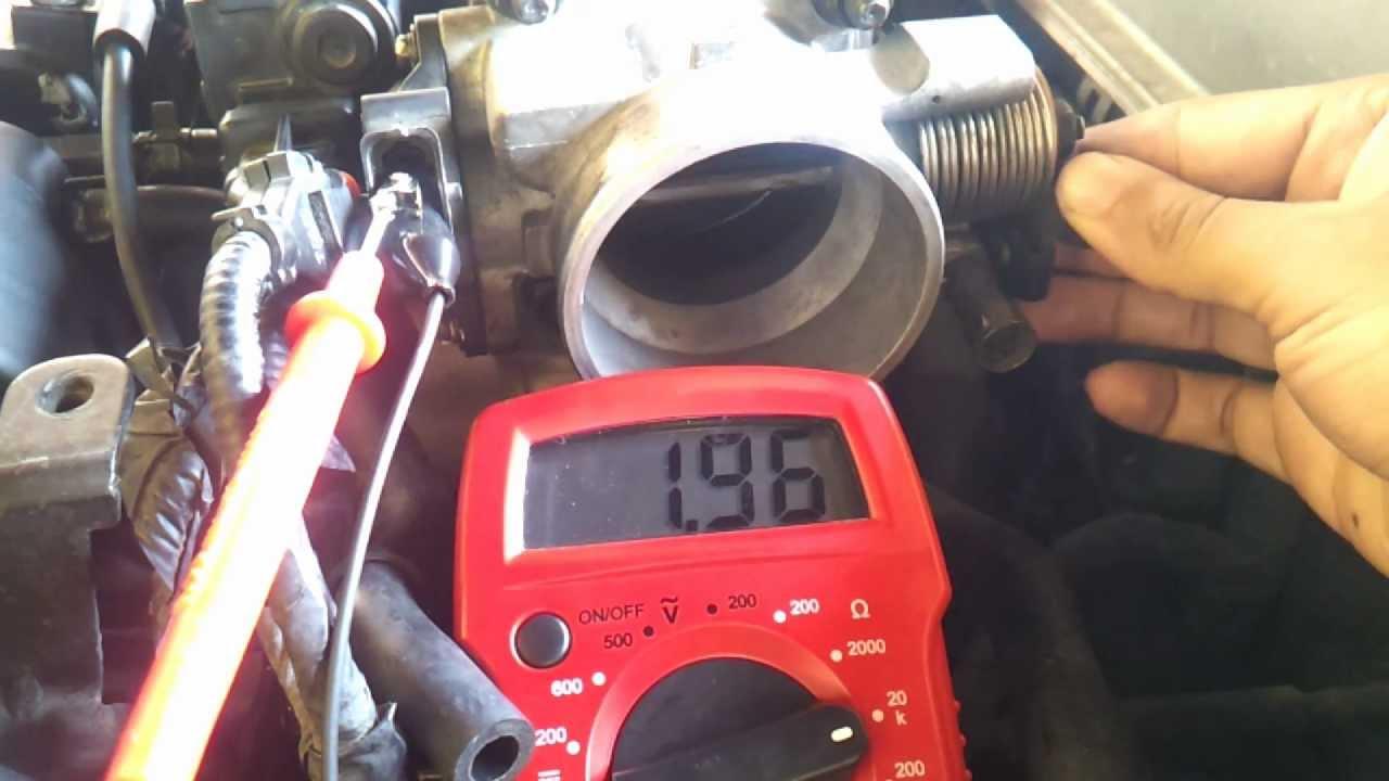 medium resolution of testing tps on hyundai tiburon