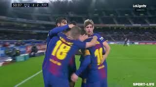 Реал Сосьедад - Барселона 2-4
