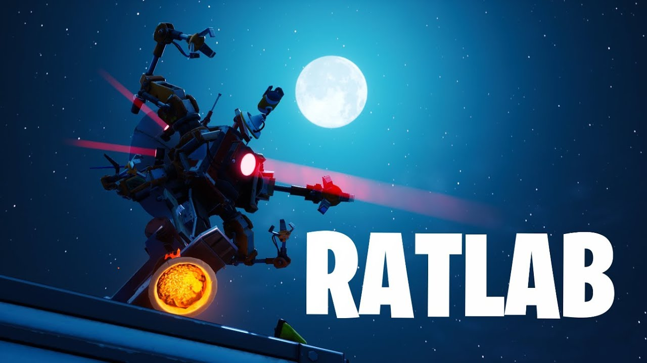 Rat Lab Ninjakimm Fortnite Creative Map Code