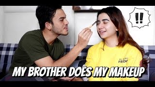 Video MY BROTHER DOES MY MAKEUP (DIDANDANIN RIZKY NAZAR) download MP3, 3GP, MP4, WEBM, AVI, FLV Maret 2018