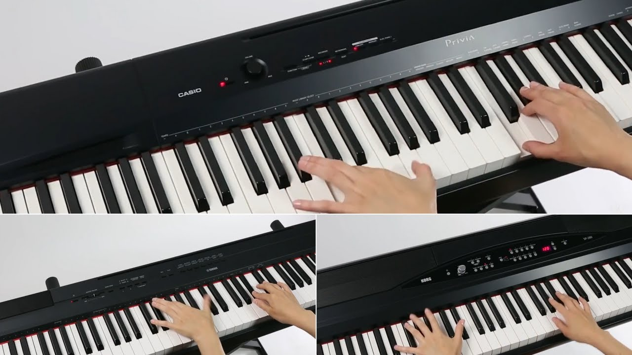 Casio Privia   Vs Yamaha