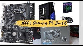 Gaming Pc Build Under 1000$ | EVGA GTX 1070 8GB Superclocked 2018