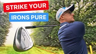 SIMPLE TIPS TO STRIKE YOUR IRONS PURE