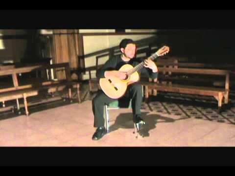 Cesar Medel's mini recital.