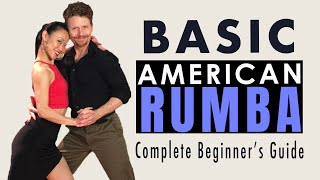 Learn to dance Rumba for beginners. This dance video lesson will help you learn how to dance Rumba (American Style). You will learn the basic steps to ...