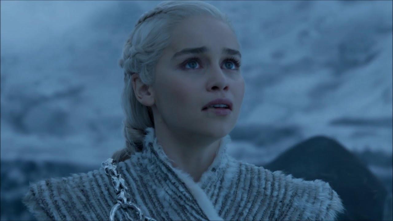 Download Daenerys Rides North To Save Jon Snow - Night King Shoots Down Viserion 7x06