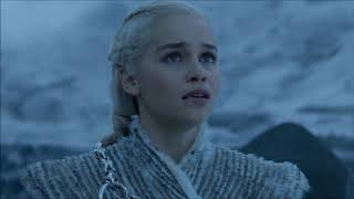 Daenerys Rides North To Save Jon Snow - Night King Shoots Down Viserion 7x06