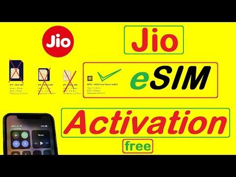 Jio ESIM Activation Process | Jio Esim Activation For Iphone And Google Pixel Devices | Jio ESim