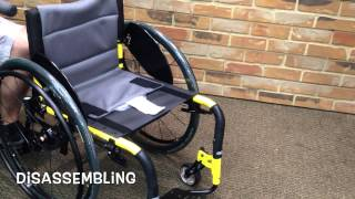 Invacare RVL Top End Reveal Manual Wheelchair