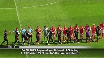 1. FSV Mainz 05 II vs. TuS Rot-Weiss Koblenz