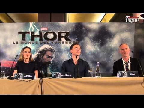 Thor Le Monde des Ténèbres : la conférence de presse à Paris