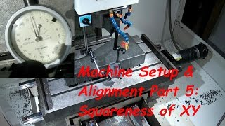 Cnc Machine Setup And Alignment Part 5: Squareness Of Xy