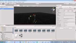1 Видео урок по unity 3d