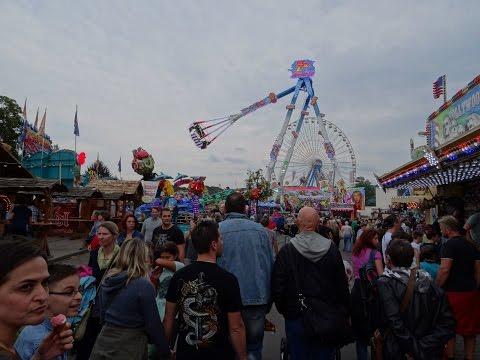 Pützchens Markt 2015 Alle Fahrgeschäfte