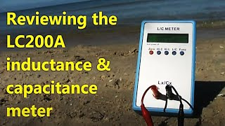 LC200A LC meter review and giveaway